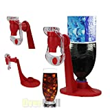 Perfect shopping Soda Dispenser Bottle Coke Upside Down Drinking Water Dispense Machine Home Bar Party Gadget (Color: Red)