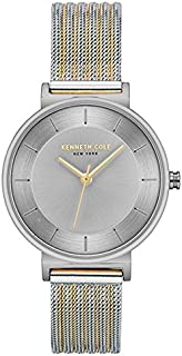 Kenneth Cole Women's Silver Dial STAINLESS STEEL Band Watch - KC50199003