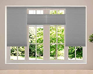 Cordless Top Down Bottom Up Shades - Any Size from 19