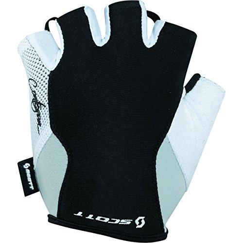 Scott Sports Womens Contessa Essential Cycling Gloves - 227995 (Black/White - L)