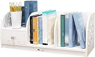 RJJX Home Bookshelf Multi-Function Simple Multi-Layer Desktop Books/Stationery Bookshelf Family Study Bedroom Bookshelf Storage Rack
