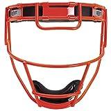 Schutt Fielder's Guard Softball Face Mask for Fast Pitch Softball, Neon Orange, Varsity