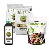 BIOTICA Box - Kit para jardinería, Contiene Suelo Natural, Fertilizante orgánico Universal, Humus de lombriz de Tierra 100% Natural - Disponible en Varios tamaños (PARVUS)