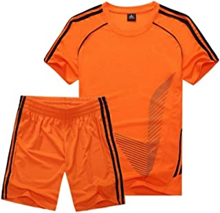 Onlyso Little Boys Classic Mesh Jersey T-Shirt and Short Set