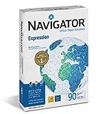 Navigator - Paquete de folios de fotocopiadora (A5, 1000 hojas, 90 g), color blanco