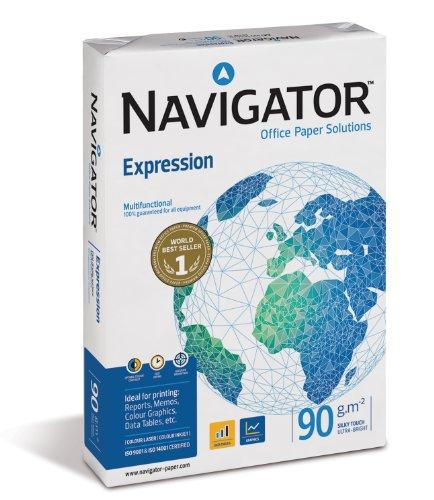 NAVIGATOR Drucker-/Kopierpapier A5, 1000 Blatt, 90 g, weiß