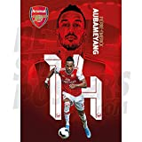 Arsenal FC 2019/20 Pierre-Emerick Aubameyang Action A2