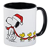 CafePress Snoopy And Bird Friends - Taza de café, té