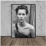 DOAQTE Kate Moss Von Peter Lindbergh Poster Drucken auf
