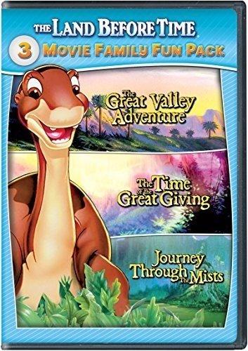 Land Before Time Ii-Iv 3-Movie Family Fun Pack [Edizione: Stati Uniti] [Italia] [DVD]