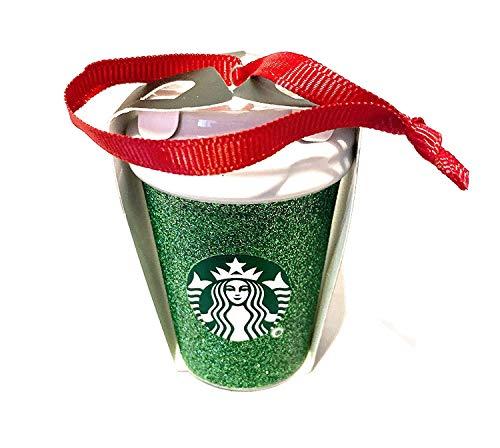 Starbucks Green Glitter 2019 Holiday Christmas Tree Ceramic rnament