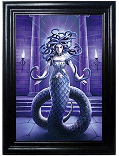 holographisches Wand art-posters That Flip und Change images-lenticular Technologie Artwork–mehrere Bilder in einem–Hologramm Bilder ändern–Technologie von Dies Spiegeln Bilder (Medussa)