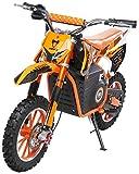 Actionbikes Motors Mini bicicleta de cross Viper para niños, 1000 W, 36 V, frenos de disco Wave, 3 niveles de velocidad, Pocket Bike – Motocross – Dirtbike – Enduro (Viper 1000 W), color naranja