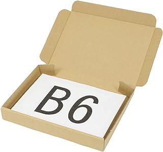 アースダンボール ダンボール 段ボール クリックポスト B6 ゆうパケット 発送 20枚 【192×138×27mm】【0403】