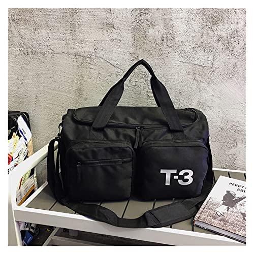 Borsa Sportiva, Borsoni Da Palestra Borsa da viaggio femminile Breve distanza Maschio Bagaglio per il bagaglio a mano BAG BAG BAG GRANDE Capacità Borsa Sport Borsa per il fitness ( Color : Black )