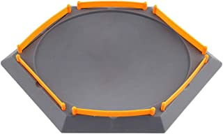 Licogel Gyro Arena Hexagon Round Spinning Top Plate Plastic Battling Top Stadium Spinner Top Stadium Battle Top Plate Spin...