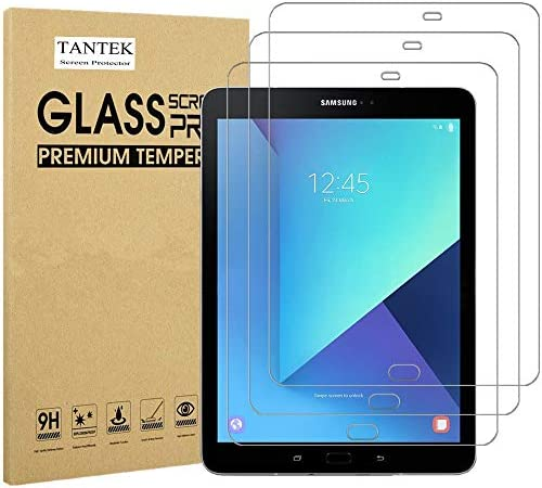 TANTEK 3 Pack Screen Protector for Samsung Galaxy Tab S3 Galaxy Tab S2 9 7 Inch Tempered Glass product image
