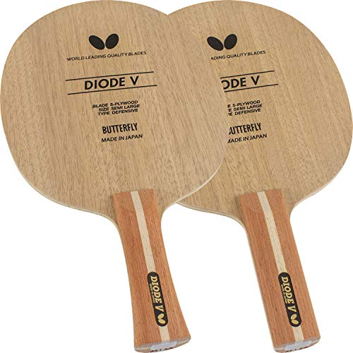 %8 OFF! Butterfly Diode V Blade Table Tennis Blade | Defensive All-Wood Blade | DDiode V Blade | Pro...