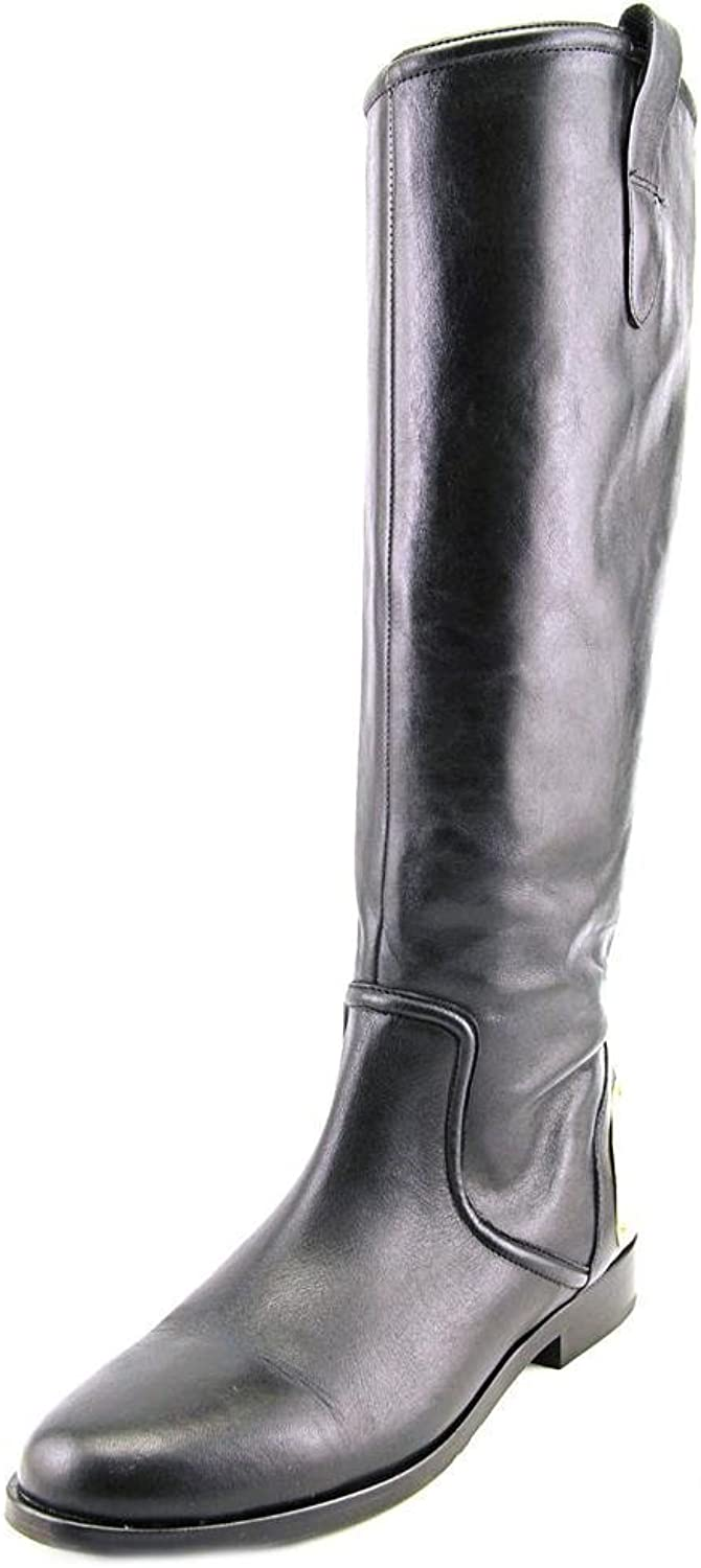 Lauren Ralph Lauren Parker Women 6 Black Leather Western Boot UK 3.5
