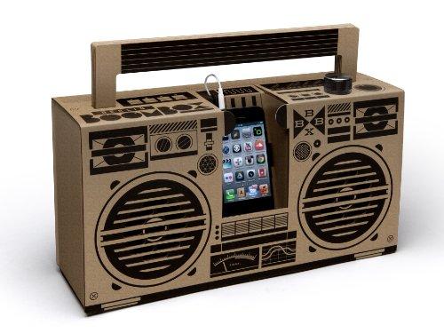 Berlin Boombox Braun - Smartphone Lautsprecher