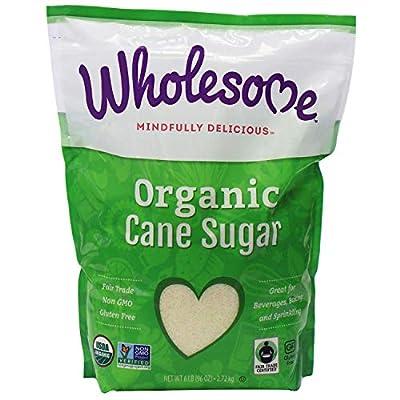 Wholesome Organic Fair Trade Cane Sugar (6lb) - PACK OF 2