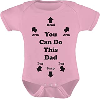 Tstars You Can Do This Dad - Funny Dads Cute Baby Bodysuit