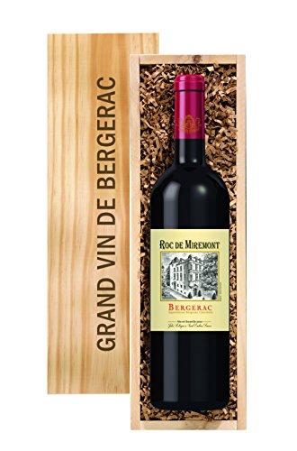 Wein-Geschenk: 1 Flasche ROC DE MIREMONT, Bergerac Rotwein, 0,75 l