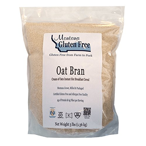 Gluten Free Oat Bran - 3 Pound Bag