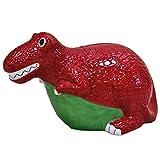 Crockery Critters Hucha - Dinosaurio T-Rexde Deluxebase. Lindos Animales en Forma de huchas Originales para niños y Adultos
