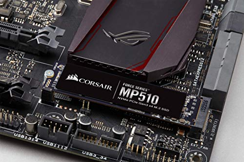 Corsair Force MP510 960 GB NVMe PCIe Gen3 x4 M.2-SSD (bis zu 3,480 MB/s)