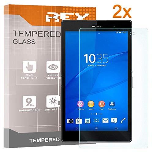 "sony xperia z3 tablet compact ELECTRÓNICA REY Pack 2X Pellicola salvaschermo per Sony Xperia Z3 Compact 8.0"""