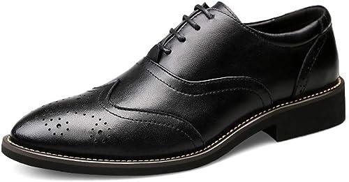 TYX-SS Herren Business Kleid Schuhe Leder Herrenschuhe super Größe Büro Schuhe