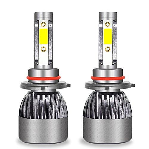 Ampoule De Phare LED Tout-En-Un Kit De Conversion-H1, H4, H7, H11, 9005, 9012-3200LM 6000K Cool White 360 Degré D'éclairage Pour Remplacement De Lampe De Voiture,9005