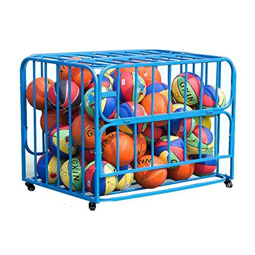 Lowest Price! Sports Ball Storage Storage Buggy Car Flip Kindergarten Basketball Basketball Ball Sto...