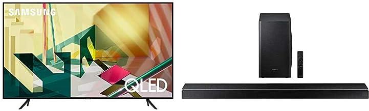 $1725 » SAMSUNG 65-inch Class QLED Q70T Series - 4K UHD Dual LED Quantum HDR Smart TV with Alexa Built-in (QN65Q70TAFXZA, 2020 Model) with Acoustic Beam Q Series Soundbar