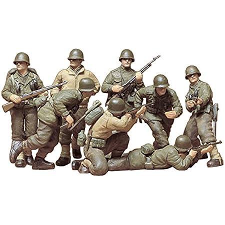 タミヤ 1/35 ミリタリーミニチュアシリーズ No.48 アメリカ陸軍 歩兵GIセット プラモデル 35048