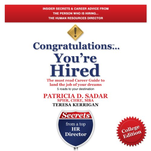 Congratulations You're Hired! audiobook cover art