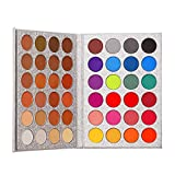 Top Beauty Makeup Eyeshadow Palette Matte Shimmer 48 Colors Blendable Highly Pigmented Professional Nudes Warm Natural Bronze Neutral Smoky Cosmetic Eye Shadows