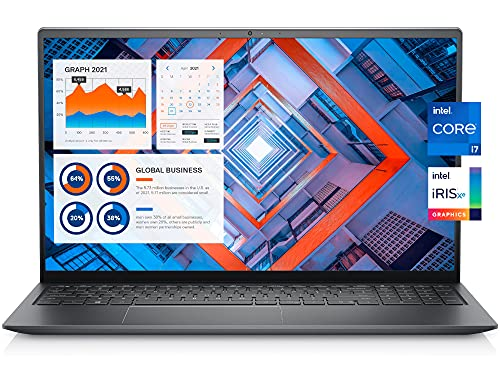 Dell Vostro 5510 Business Laptop, 15.6″ FHD LED Backlight Display, Intel Core i7-11370H, 32GB RAM, 512GB SSD, Webcam, Backlit Keyboard, Fingerprint Reader, WiFi 6, Thunderbolt 4, Win 10 Pro