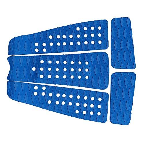 Accesorios para deportes acuáticoLigero y duradero 5 piezas con diamante ranurado de la cubierta de surf de la cubierta de la cubierta de la cubierta de la cubierta de la cubierta del almohadilla de l