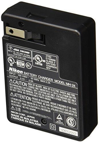 Nikon MH-24 Quick Charger for EN-EL14 Li-ion Battery compatible with Nikon D3100 DSLR, D5100 DSLR, and P7000 Digital Cameras