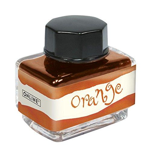 Online Schreibgeräte 17122/3 - Tinta, 15 ml, color naranja