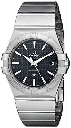 Omega Constellation Co-Axial automatico 35 millimetri analogico display svizzero automatico argento orologio