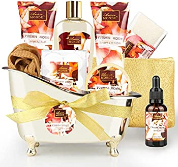 10 Piece Bath and Body Gift Set for Women & Men
