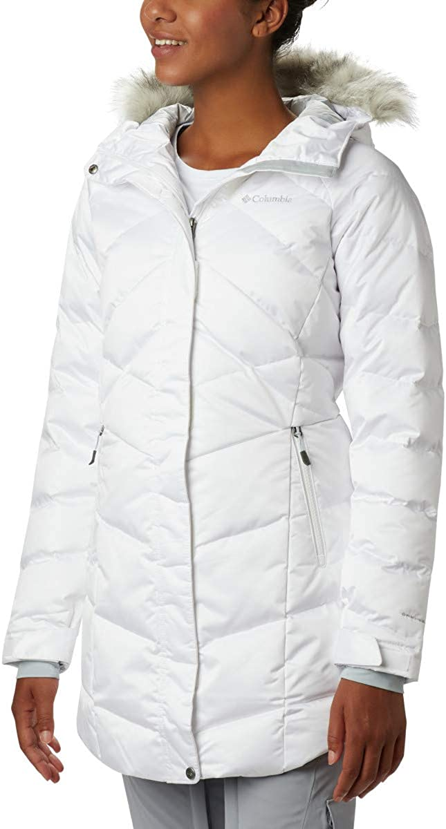 Waterproof /& Breathable Columbia Women/'s Lay D Down II Mid Jacket