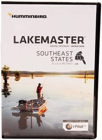 Humminbird HCSE4 LakeMaster Digitalchart Southeast States, Micro Card