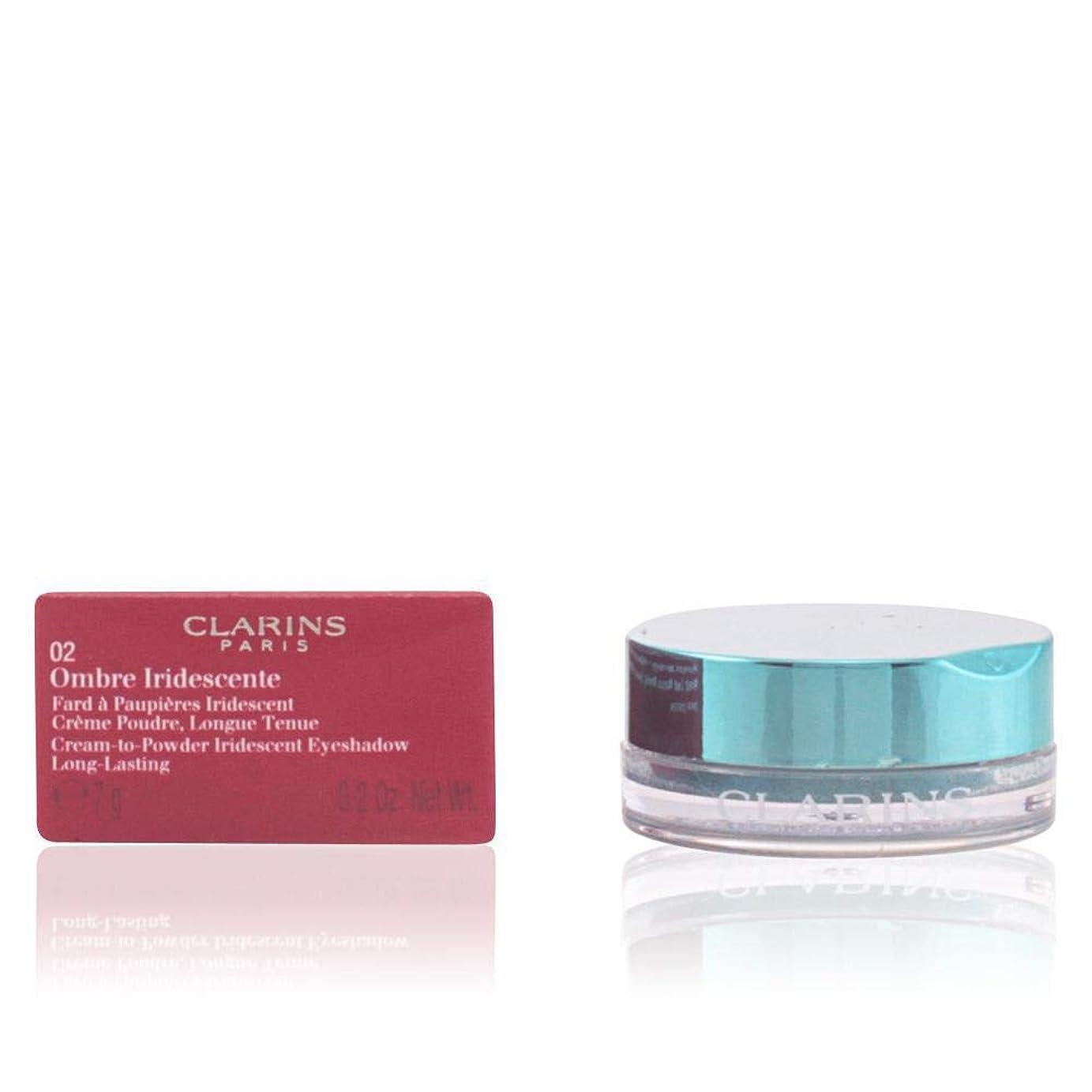 山岳艦隊統治するクラランス Ombre Iridescente Cream To Powder Iridescent Eyeshadow - #06 Sliver Green 7g/0.2oz並行輸入品