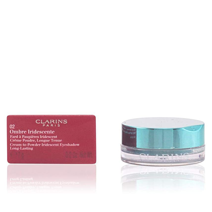 治すうそつき恐ろしいですクラランス Ombre Iridescente Cream To Powder Iridescent Eyeshadow - #06 Sliver Green 7g/0.2oz並行輸入品