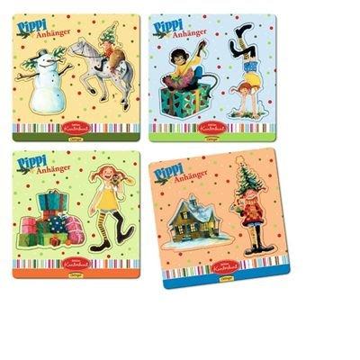 Pippi Schürze: Baumwollschürze mit 2 Taschen