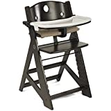 Keekaroo Height Right Highchair with Tray - Espresso Base